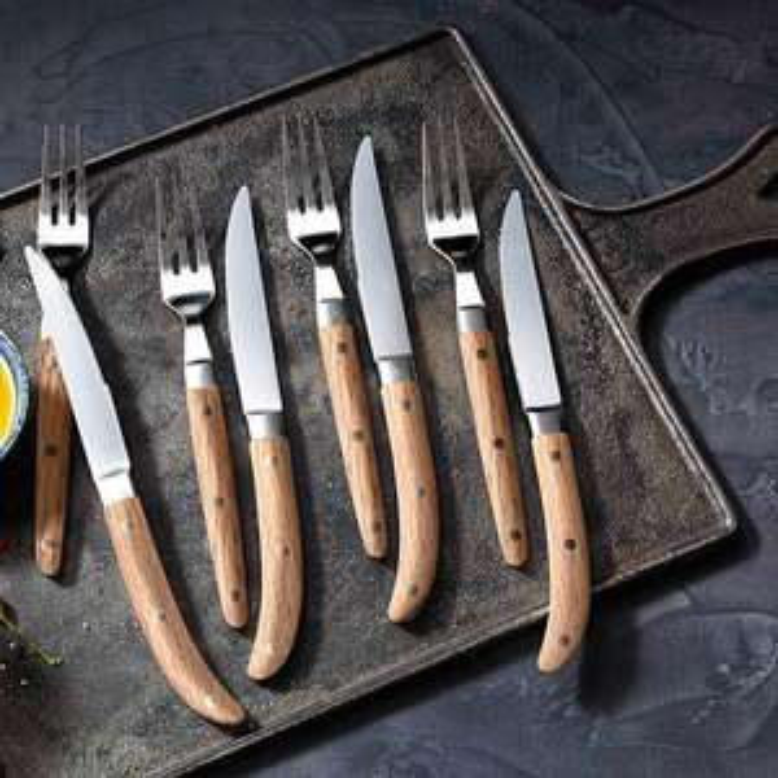 WMF Ranch Steakbesteck-Set, 8-tlg.