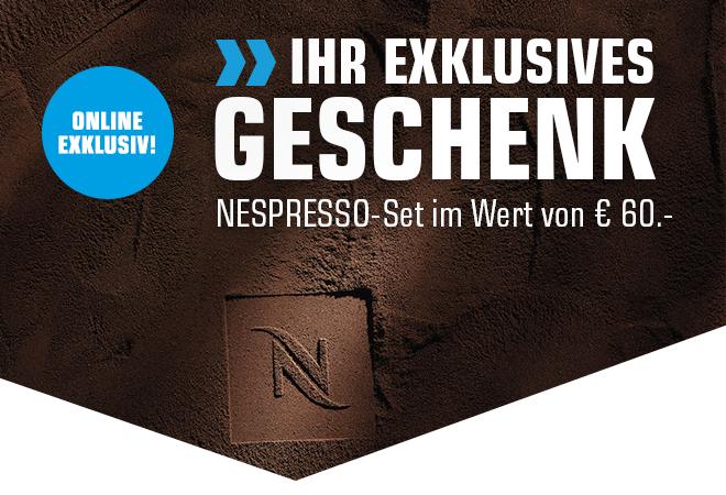Saturn Card: 60,- Nespresso-Set zu jeder Nespressomaschine on top dazu!