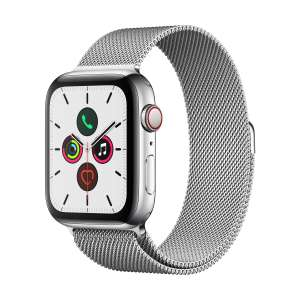 [Conrad.at] Apple Watch Series 5 / Cellular / 44MM / Edelstahl silber / Milanaise
