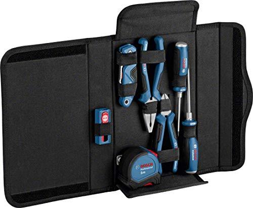 Bosch Professional 16 tlg. Profi Werkzeug Set (7x Werkzeug + Ersatzklingen)
