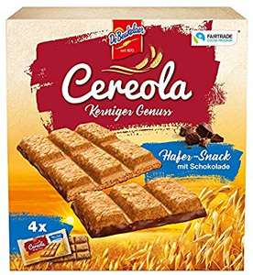 100% Cashback von Marktguru auf 4 Packungen Cereola Hafer-Snack