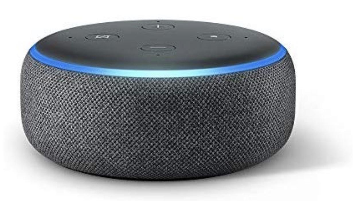 Amazon Echo Dot (3. Gen.) 1+1 Gratis.