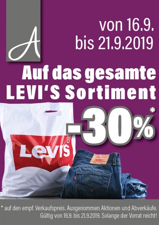 [Astro] -30% auf Levis-Sortiment
