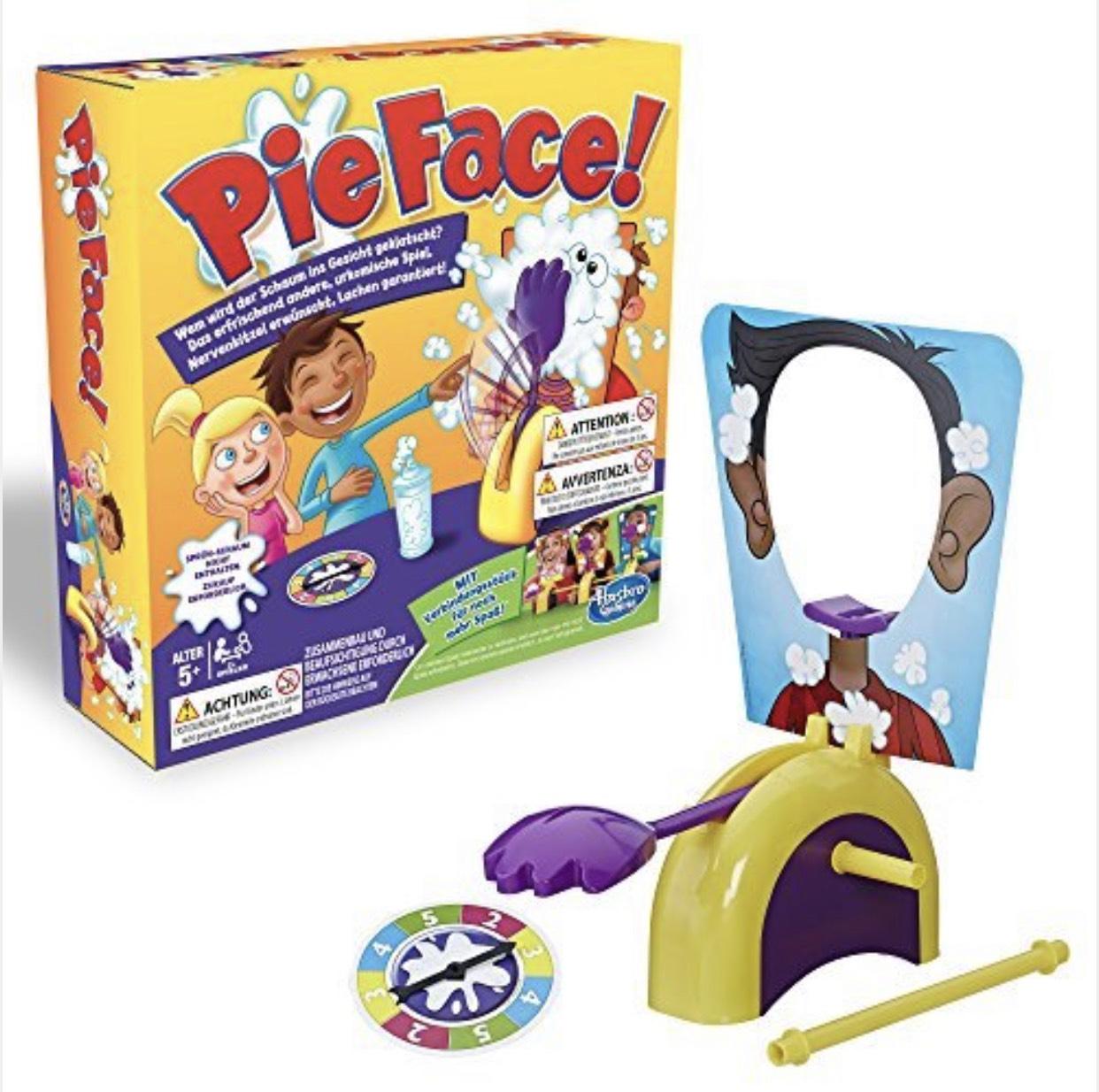 Hasbro  Pie Face Partyspiel