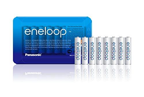 8x Eneloop AAA 750mAh inkl. Storagecase