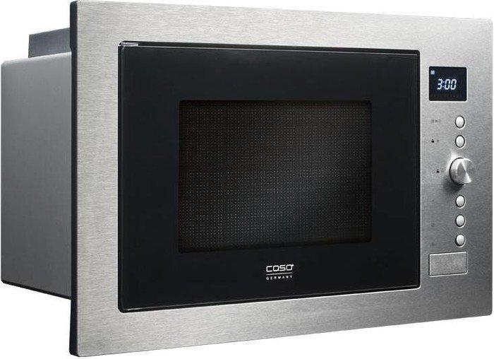 Caso EMCG32 Einbaumikrowelle inkl. Grill und Heißluft ( 1100 W / 2500 Watt, 32L Garraum, 10 automatische Kochprogramme)