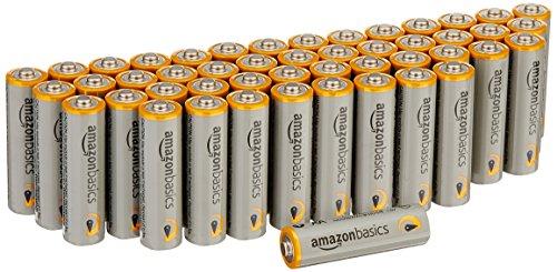 AmazonBasics Performance Batterien Alkali, AA, 48 Stück
