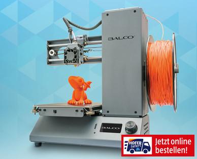Drucken in 3D bei Hofer
