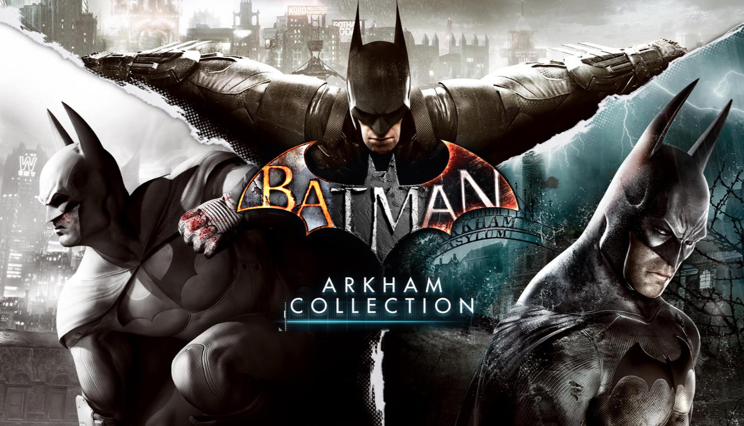 @Epicgames Batman: Arkham collection; Lego Batman Trilogy (Angebot 1 Woche gültig!)