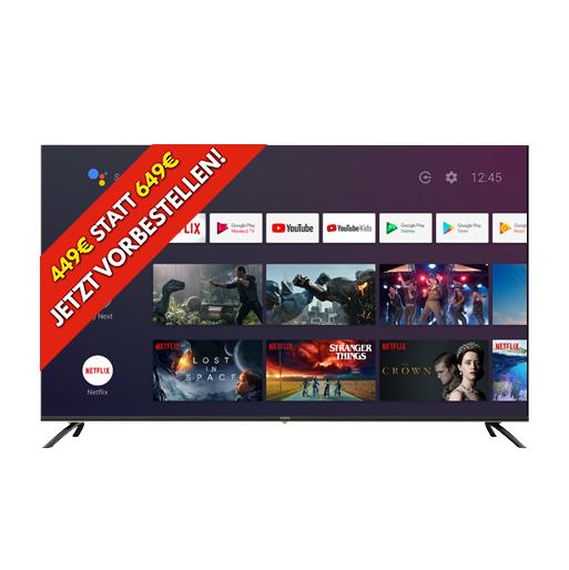 (Top) KA-GIS U55IP7UHD Fernseher ohne TV-Tuner = GIS befreit