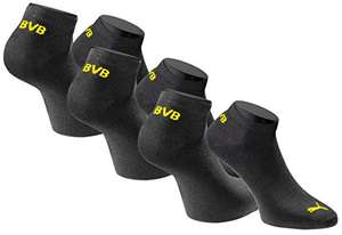 [Blitzangebot] 3x Puma Sneakersocken BVB Borussia Dortmund