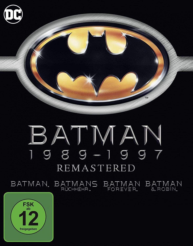 Batman 1-4 - 1989 bis 1997 (Bluray)