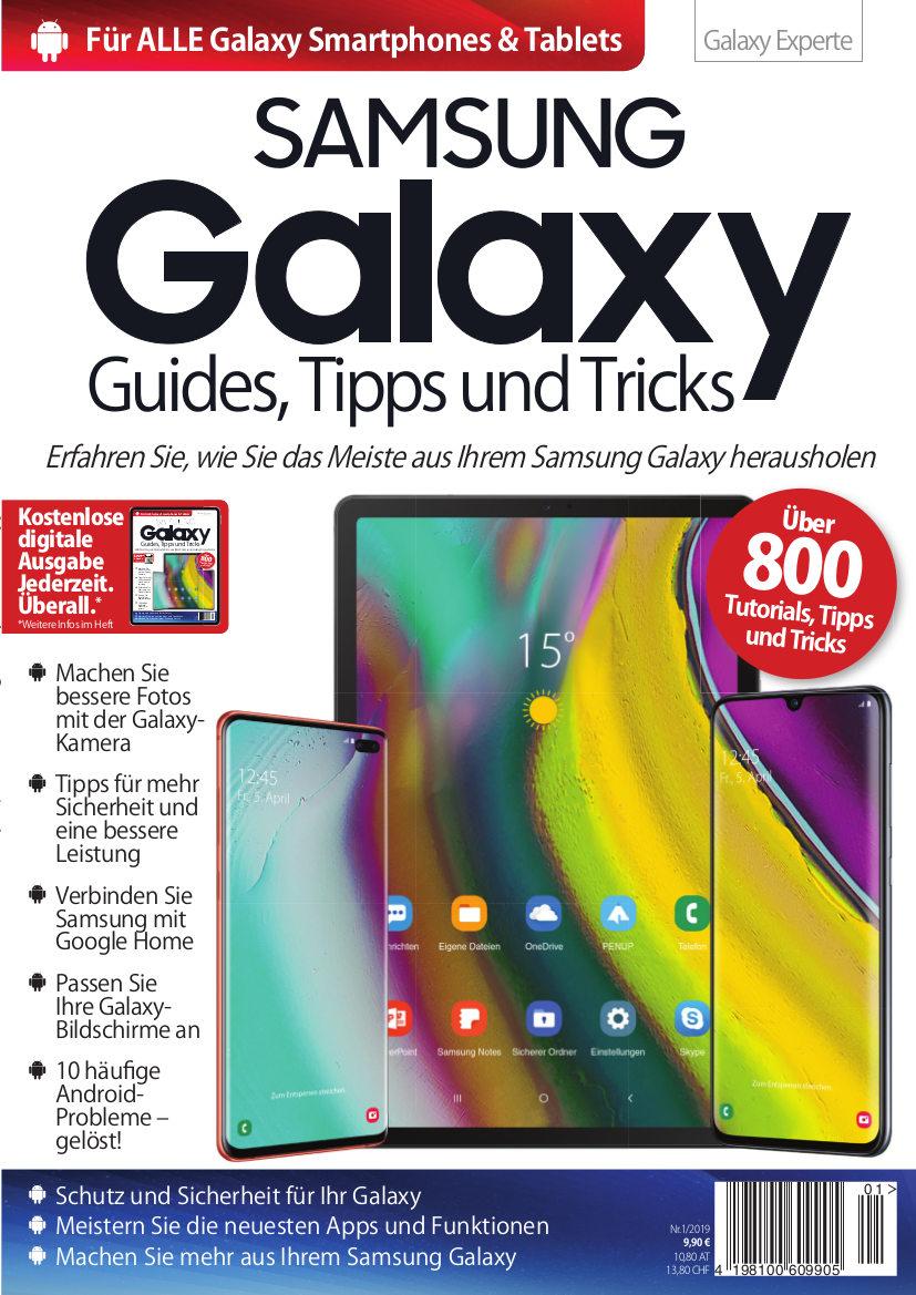 """GRATIS Magazin """"Samsung Galaxy Guides Tipps und Tricks"""" als PDF"""