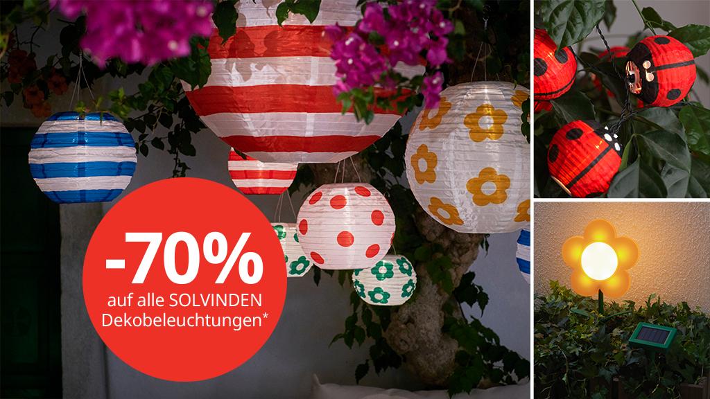 -70% auf Solvinden Dekoleuchten bei Ikea Vösendorf