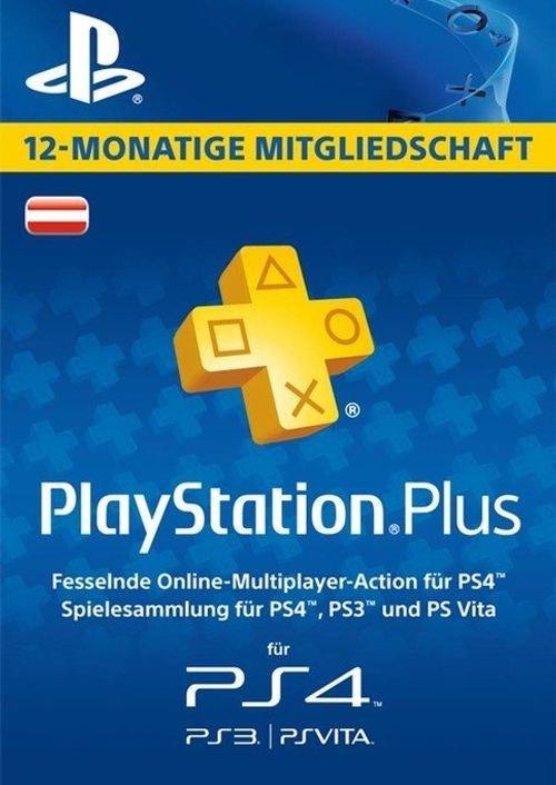 PS Plus 12 Monate Österreich