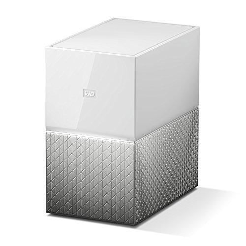 WD My Cloud Home Duo 12 TB Persönlicher Cloudspeicher - externe Festplatte 2-Bay - WLAN, USB 3.0. Backup, Videostreaming