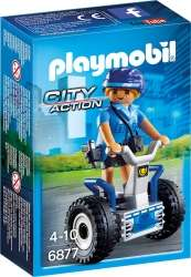 Playmobil City Action 6877 - Polizistin mit Balance-Racer