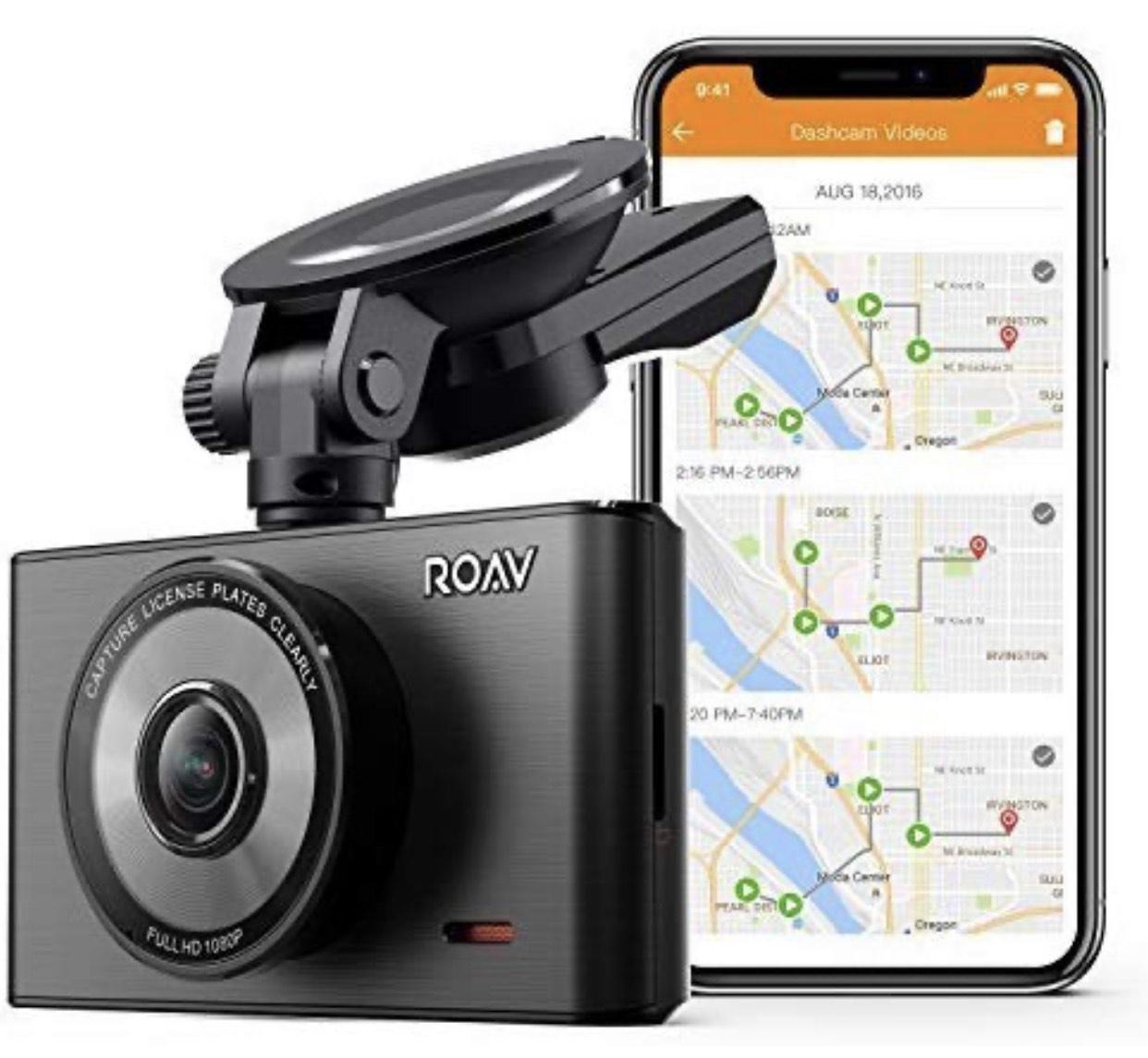 Roav DashCam C2 Pro, 1080p Auflösung