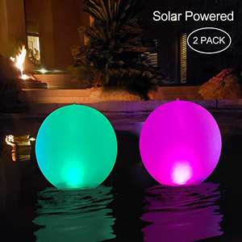 "2Stk. 14"" LED Solarlichter"