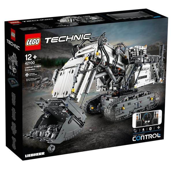 LEGO Technic - Liebherr Bagger R 9800 (42100)