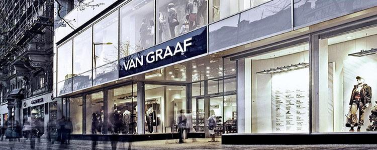 VAN GRAAF in der Shopping City Süd   wird geschlossen  bis -50%