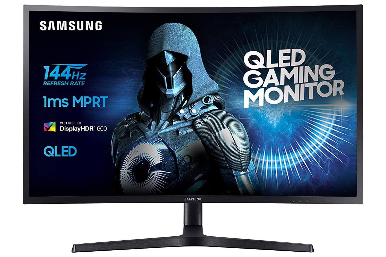 Samsung LC27HG70QQUXEN 68,4 cm (26,9 Zoll) Monitor (HDMI, USB, 1ms Reaktionszeit) schwarz