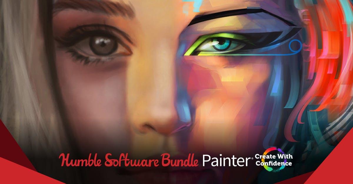 The Humble Software Bundle mit Corel Painter® 2019 / PaintShop Pro Ultimate 2020 / Gravit Designer PRO uvm.