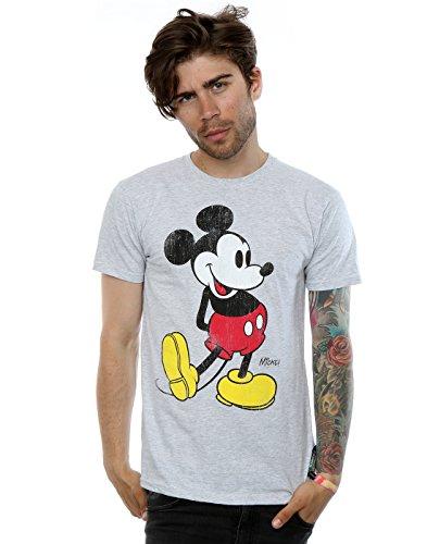 Disney Mickey Mouse Classic Kick T-Shirt (offiziell lizensiert)