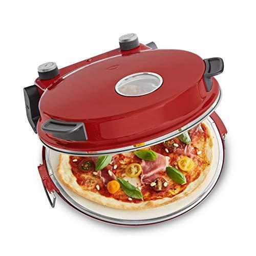 Minibackofen elektrisch für Pizza & Brot 350°C