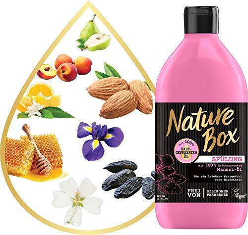 Nature Box Spülung Mandel-Öl   ___________3er Pack (3 x 385 ml)