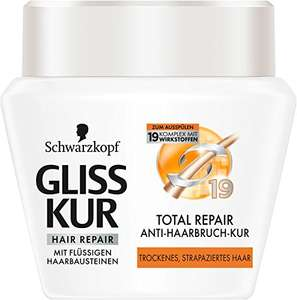 Schwarzkopf Gliss Anti-Haarbruch-Kur, Total Repair, 6er Pack (6 x 300 ml)