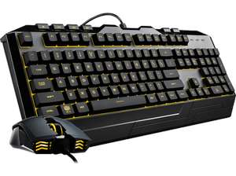Cooler Master CM Storm Devastator III, LEDs RGB, USB, Tastatur/keyboard + Maus/mouse Bundle (Mediamarkt) inkl. Versand