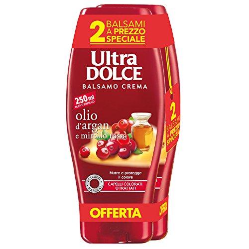 AMAZON.de l  Garnier - 6 Stück Ultra süße Spülung 250 ml [3x2er-Pack] Argan und Cranberry