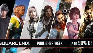 Humble Bundle Square Enix publisher week sale - bis zu 90% auf den UVP, Tomb Raider, Final Fantasy uvm