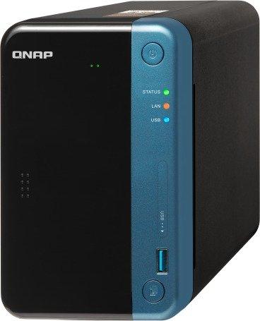 QNAP TS-253Be-2G Desktop NAS Gehäuse mit 2 GB DDR3L, Powerful 2-Bay Storage Server