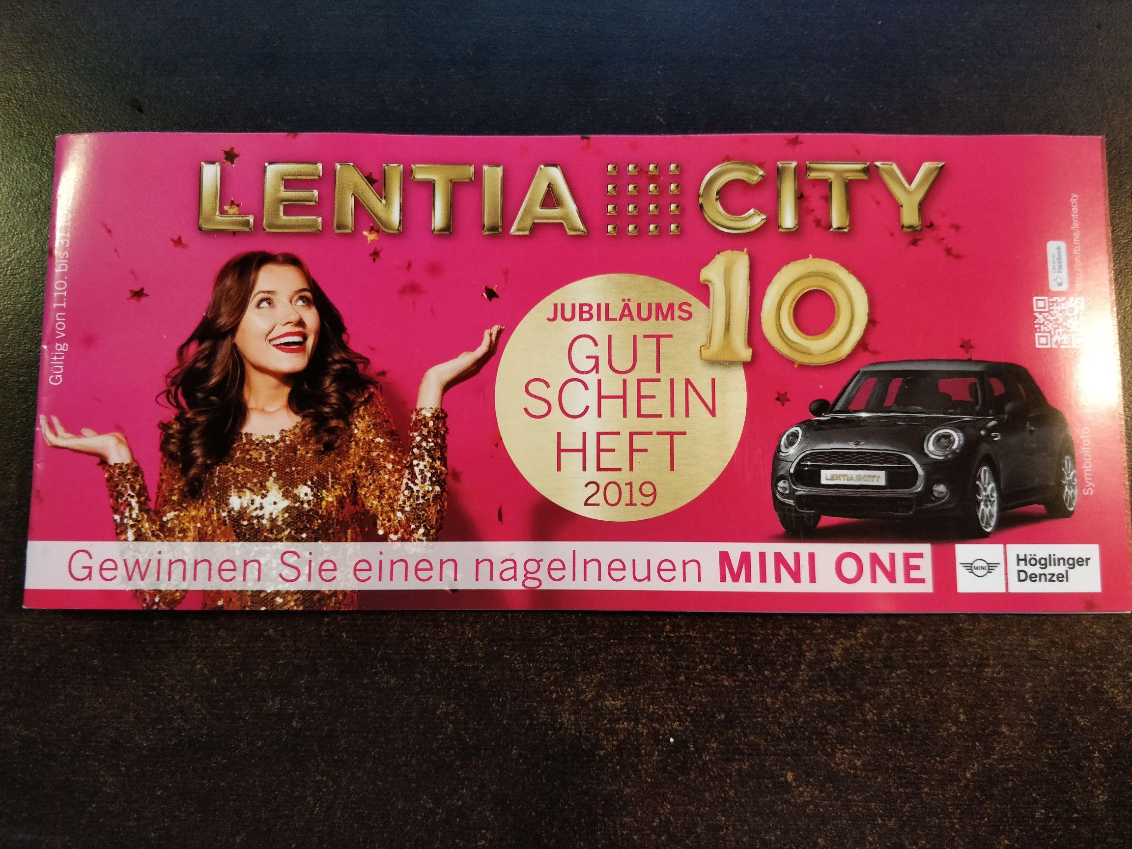 Lentiacity Linz Gutscheinheft