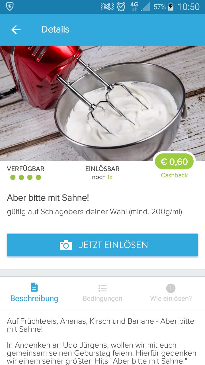 Schlagobers - 0,6€
