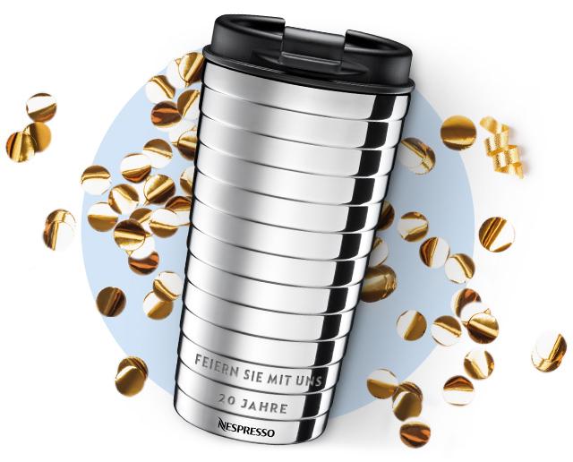 [Nespresso-INFO-Wien] Travel Mug personalisieren lassen