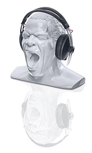 Oehlbach Kopfhörerständer Scream - Handmade, Kunstharz, Weiß  D1C35402