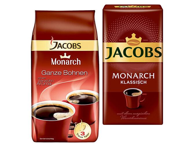 500g Jacobs Monarch Kaffee (ganz oder gemahlen)