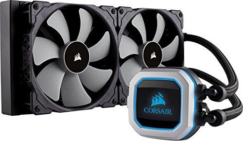 CORSAIR Hydro Series H115i PRO RGB CPU-Flüssigkeitskühlung (280-mm-Radiator)
