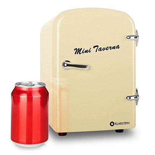 "Klarstein ""Mini Taverna"" mobiler kleiner Mini Auto Kühlschrank 12V Kühlbox Warmhaltbox"
