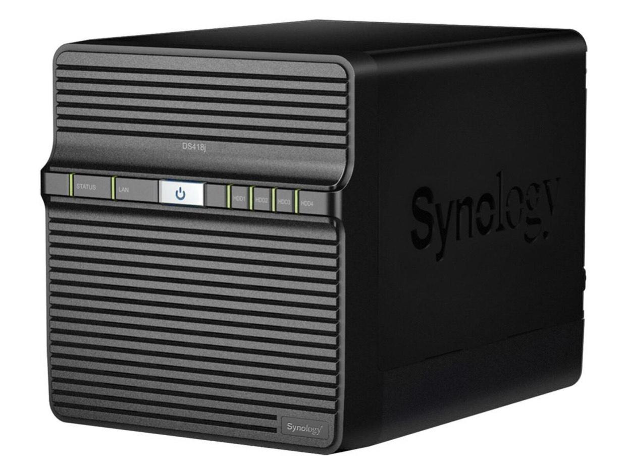 PREISFEHLER!! Synology Diskstation DS418j NAS System 4-Bay (über LogoiX)