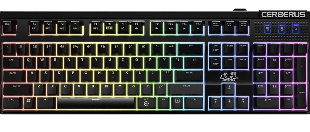 ASUS Tas Cerberus Mech RGB Gaming Keyboard dt. Layout