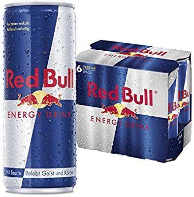 60 Dosen Red Bull Energy Drink (10 x 6 x 250ml Dosen) [Amazon]