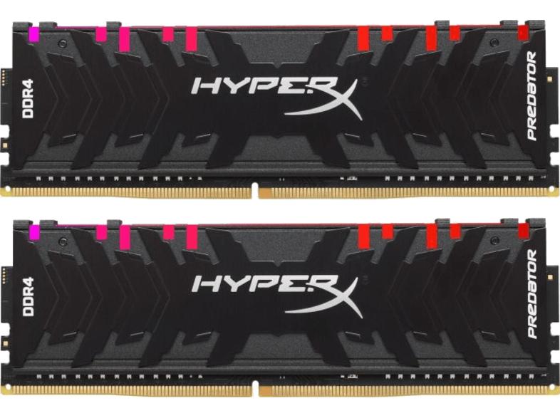 KINGSTON Arbeitsspeicher HYPERX PREDATOR DIMM Kit 16GB, DDR4-3200 (HX432C16PB3AK2/16)