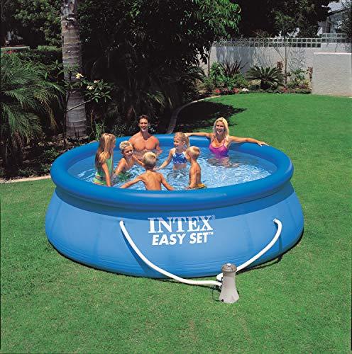AMAZON.de l Der nächste Sommer kommt bestimmt! - INTEX Swimming Pool Easy Set 28132GN - Pool, Filterpumpe und Filtereinsatz 366x76cm