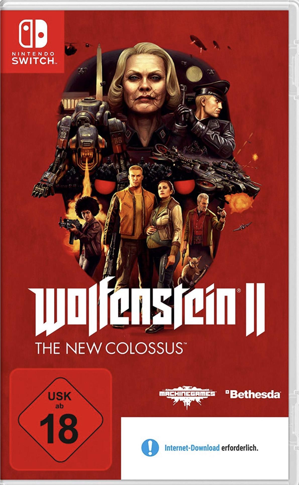 Wolfenstein II: The New Colossus für Nintendo Switch