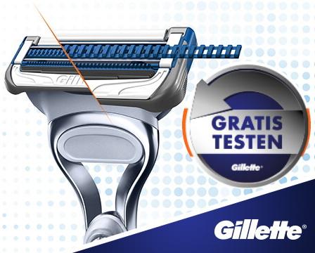 Gillette Skinguard  Sensitive Rasierer GRATIS testen - 100% Cashback