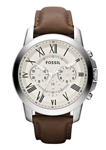 Fossil Herrenuhren reduziert z.B.  Fossil Grant, FS4735IE für 90,80€